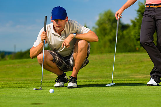 Learn how to putt